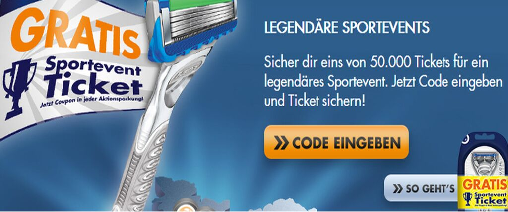 GILLETTE-TICKET-PROMOTION